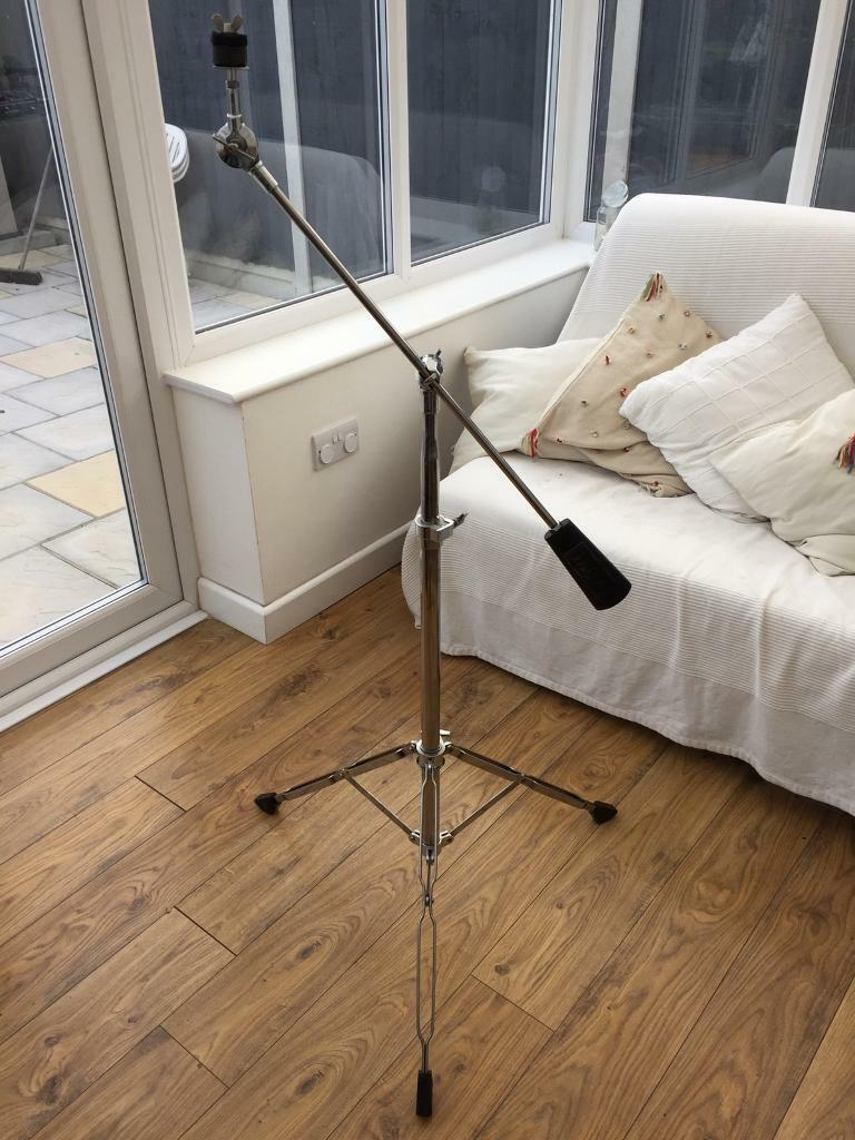 Vintage Tama Titan Cymbal Boom Stand with counterweight attachment.