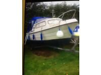 Cabin boat for sale