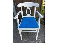 4 Carver dining or kitchen chairs in shabby chic