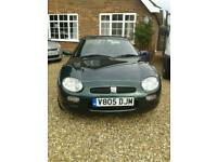 MGF 1.8 CONVERTIBLE 1999 V. 5 MONTHS MOT EXCELLENT ENGINE LOVELY CONDITION