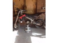 APRILIA SX50 FOR SALE SPARES OR REPAIR PLEASE READ AD