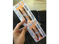 2 x Creamfields 4 day gold camping for sale