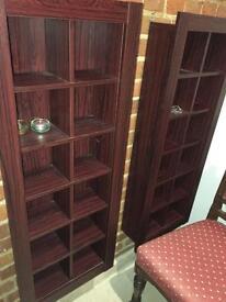 2 CD storage cabinets