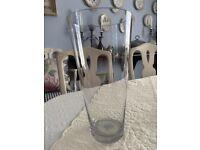 LARGE GLASS VASE - H30 CM