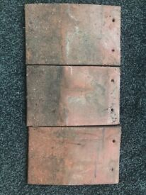 Reclaimed red concrete tiles approx 7000 tiles, 10x6 excellent condition