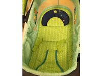 Bright starts baby bouncer seat