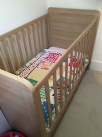 Mamas And Papas Cot Toddler Bed