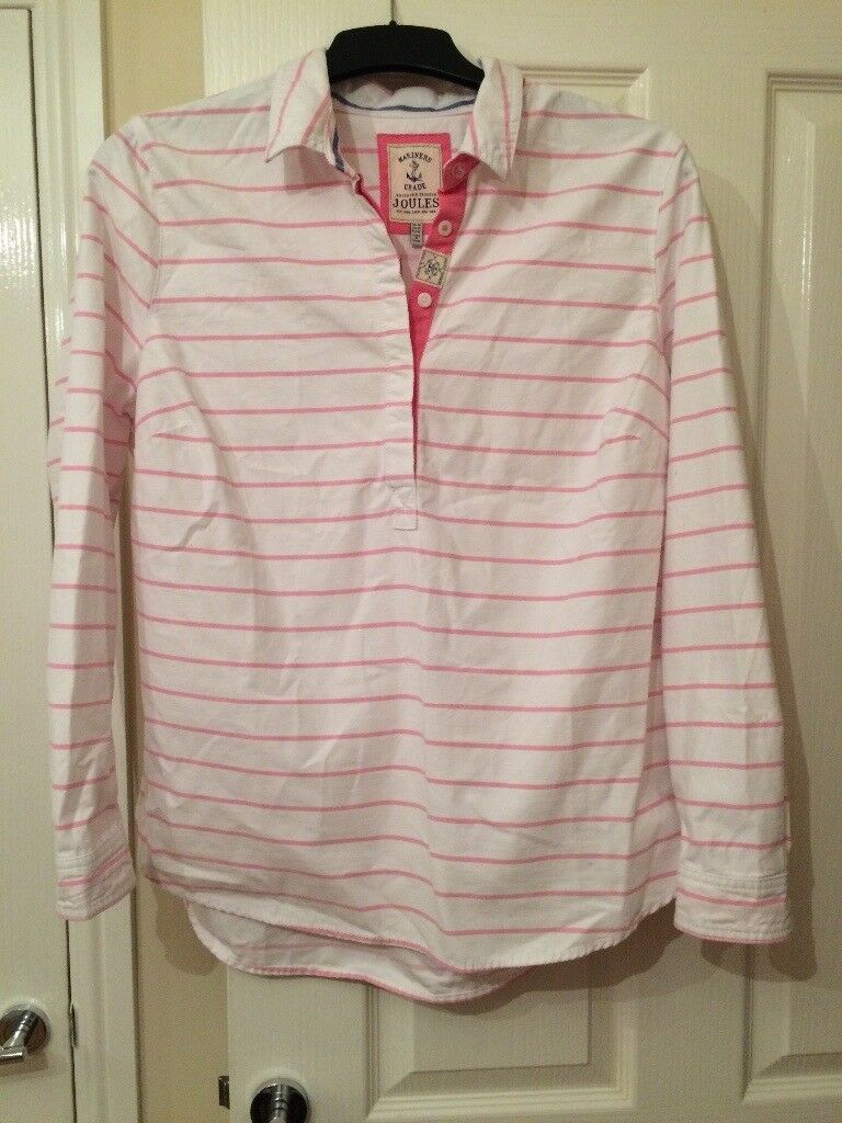 Beautiful joules long sleeved top - never worn size 16 but fits up large