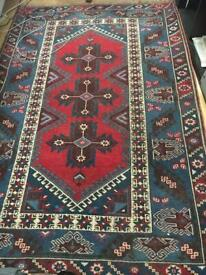 Turkish Kilim Rug Wool Carpet Hand Woven