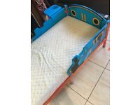 Thomas the tank engine toddler bed and mattress