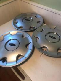 FORD HUBCAPS WHEEL TRIMS GENUINE 15 INCH £20