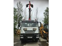 Grab Lorry 2009 Iveco Trakker 360 8x4 Steel Tipper