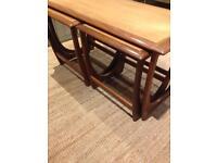 Vintage mid century G Plan nest if tables