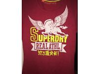 Red girls super dry top.