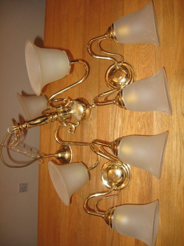 3 WAY CEILING LIGHT AND TWO MATCHING WALL LIGHTS | in East ...