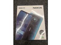 NOKIA 5.3 64GB BLUE UNLOCKED BRAND NEW WITH RECEIPT