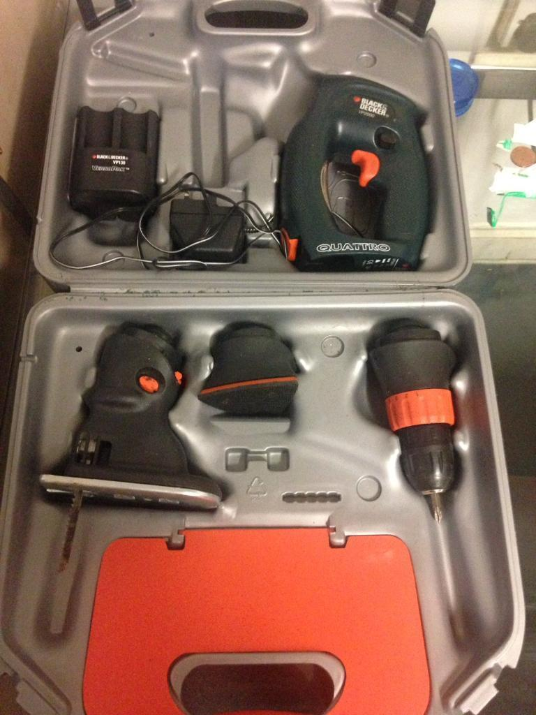 Black and decker Quattroin Heathrow, LondonGumtree - Comes with all bits, only used handful of time, great for diy.... any questions just ask
