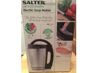 Salter soup maker pre owner