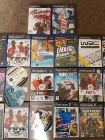 Bundle of ps2 games playstation
