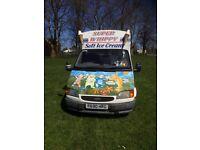 Ice cream Van- Ford Transit 120 SWB- Diesel