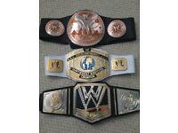 WWE BELTS AND MASKS