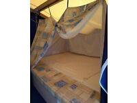 Trigano Trailer Tent 4 Berth in great condition. With awning and cooker, first to see will buy