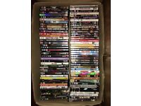 160+ DVDs