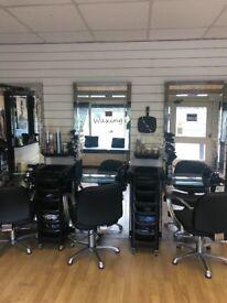 Hairdressers shop to rent in Halton, Leeds.