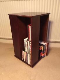 Rotatable Books/DVD/CD unit