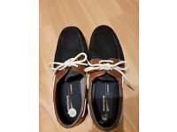 NEW Men's Loafers Navy/Brown size UK 7 / EU 41