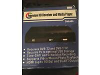 freeview hd Receiver and media player