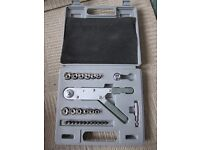 socket set with carry case