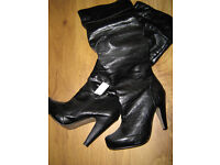 ####SELECTION OF LADIES BOOTS SIZE 6 #####