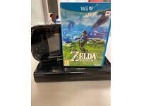 Nintendo wii u 32gb Zelda bundle