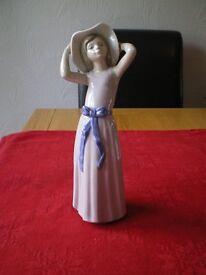 Lladro Girl ornament