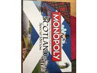 Monopoly= Scotland special edition