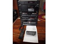 Technics Stereo. Amp, Tuner, Equaliser, CD Player, Cassette Deck
