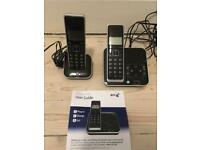 BT Xenon Twin Phones - hardly used, excellent working condition