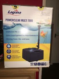 BRAND NEW Laguna Powerclear Multi 7000 All In One Pump / Filter / UV