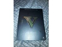 Limited edition Grand Theft Auto 5 strategy book