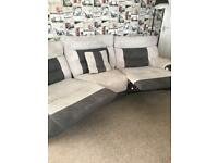 ScS Curved Reclining 4 Seater Sofa
