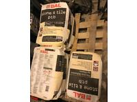 7 x 20kg bags of Tile Adhesive