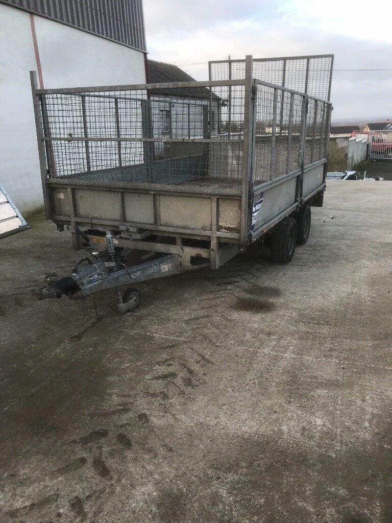 Ifor williams trailer 12 x 6'6