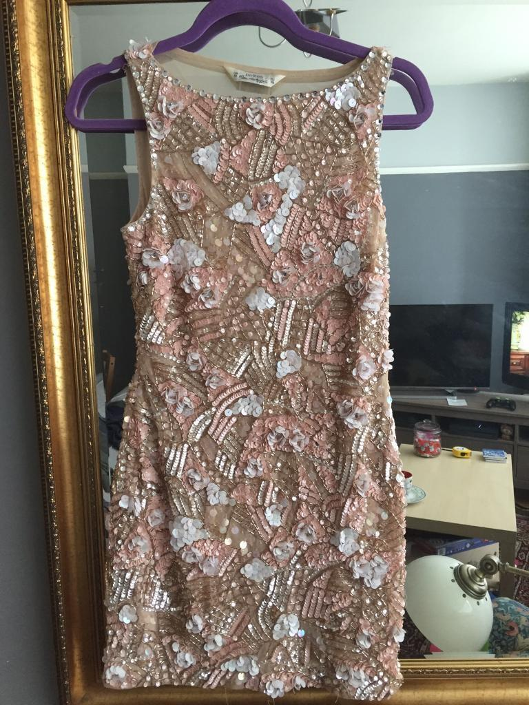 Miss Selfridge Sequin Dress Size 10in Henleaze, BristolGumtree - Pretty sparkly sequin Miss Selfridge size 10 dressWorn once and in very good conditionVery flattering with mesh back cut outFrom a pet and smoke free homeAny questions please ask