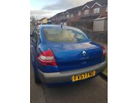Renault Megan for sale Very good condition Low mileage. 2 owner car with service history.