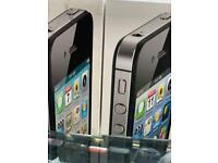 IPHONE 4/4S UNLOCKED BRAND NEW BOXED AND WARRANTY