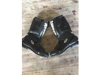Alpinestars leather motorcycle boot