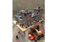 ELC Wooden castle set and figures