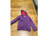Girls autumn coat age 7-8