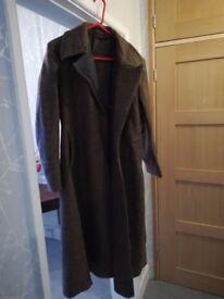 Soviet military overcoat